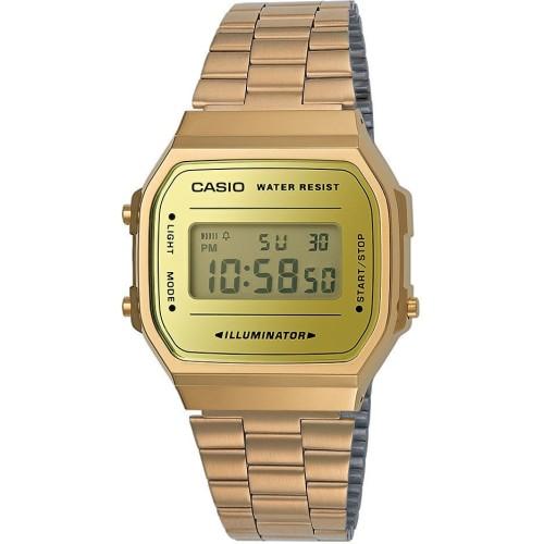 orologio digitale uomo Casio Retro Codice: A168WEGM-9EF