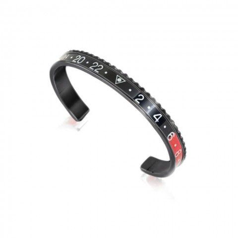 SPEEDOMETER OFFICIAL BLACK SERIES RED & BLACK BRACCIALE UNISEX