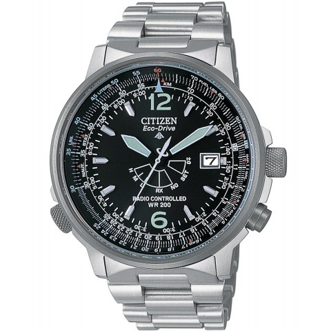 Citizen Watch Pilot Acciaio AS2020-53E
