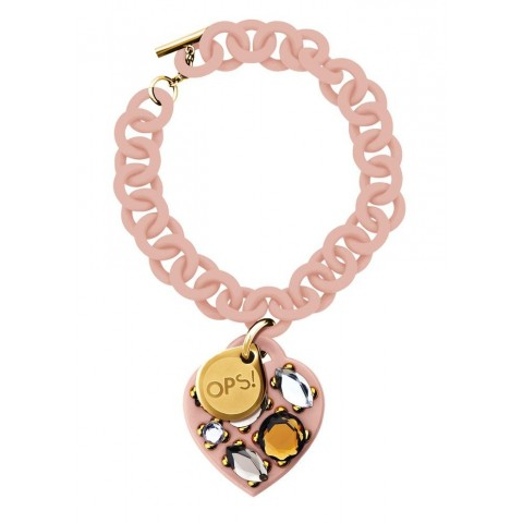 Ops!Objects Bracciale Ops! Stone Rosa Cipria