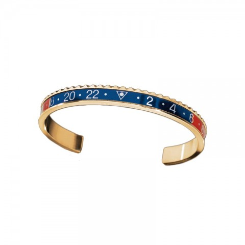 Speedometer Official bracelets GOLD Red & Blue
