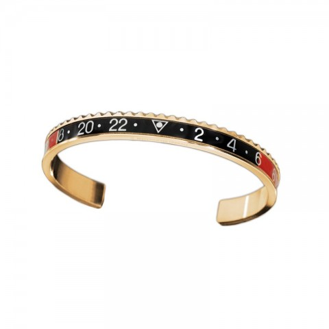 Speedometer Official bracelets GOLD Red & Black