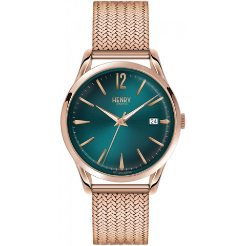 Henry London watch only time HL39-M-0136 Stratford