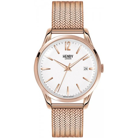Henry London watch only time HL39-M-0026 Richmond