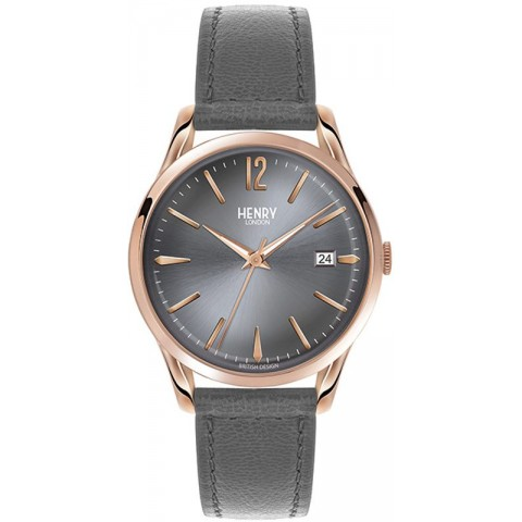 Henry London watch only time HL39-S-0120 Finchley