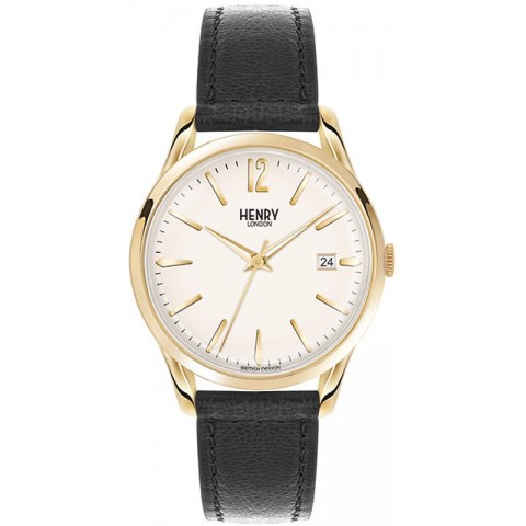 Henry London watch only time HL39-S-0010 Westminster