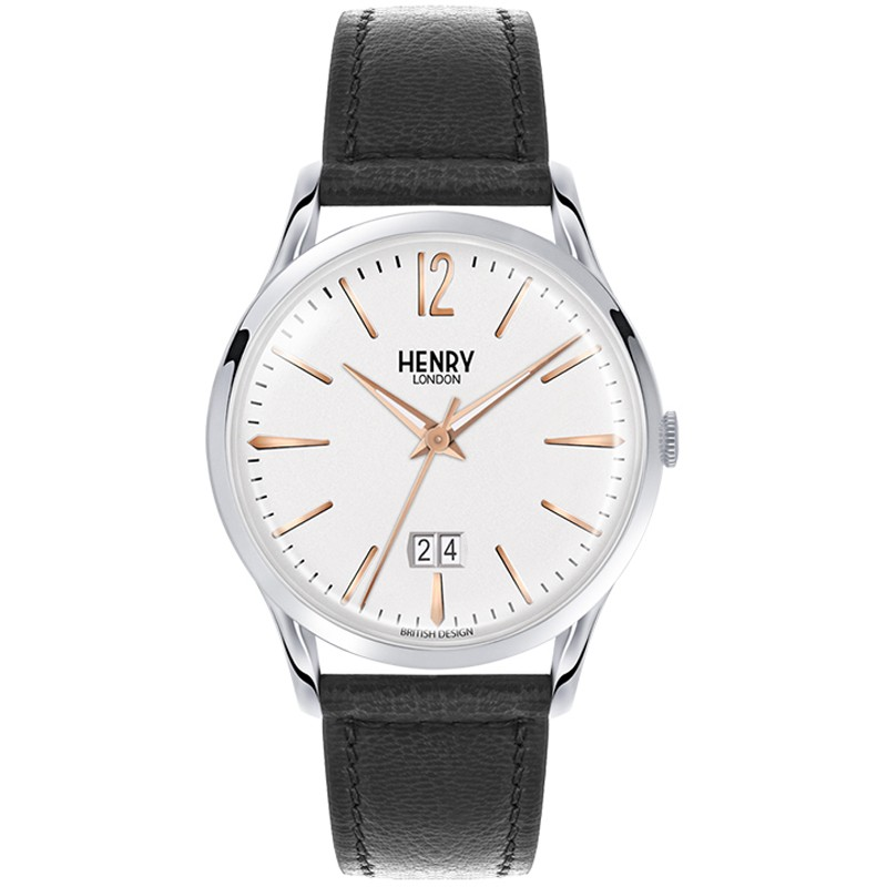Henry London watch only time HL41-JS-0067 Highgate