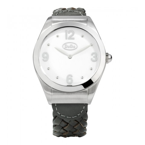 Dodo White and Steel Watch