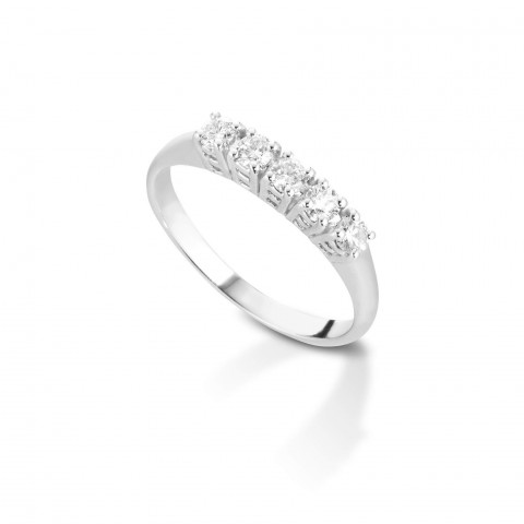 5 stone diamond Valori ring
