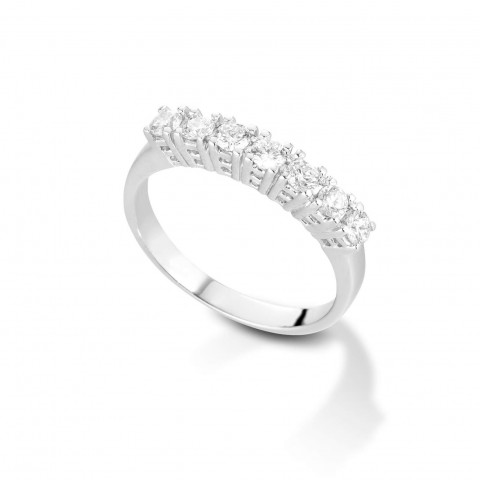 7 stone diamond Valori ring