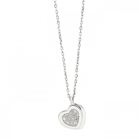 SALVINI WHITE GOLD NECKLACE BE HAPPY WITH DIAMOND COLLECTION
