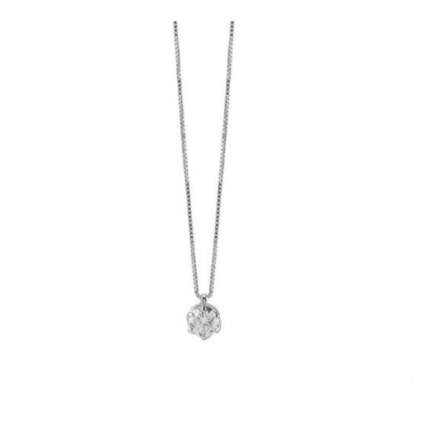 SALVINI WHITE GOLD NECKLACE LAVINIA WITH DIAMONDS