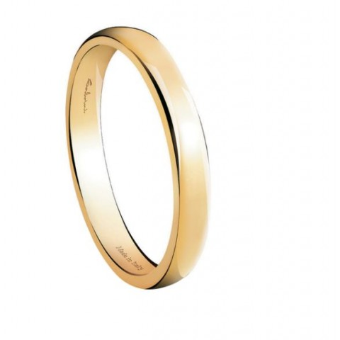 SALVINI YELLOW GOLD WEDDING RING FIRST DATE