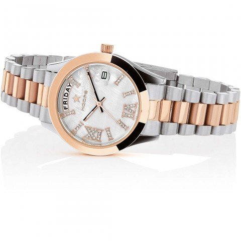 orologio solo tempo donna Hoops 2625LSRG05