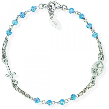 bracciale donna gioielli Amen Rosari BROBC3