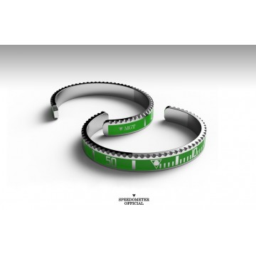Bracelet Speedometer Official Submariner Green