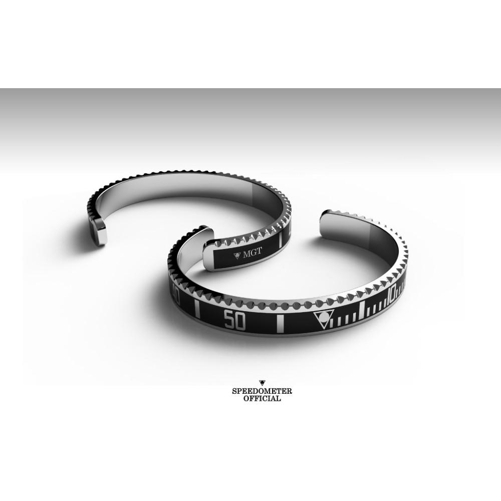 Bracelet Speedometer Official Submariner Black