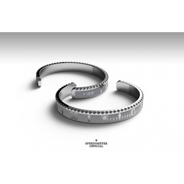 Bracelet Speedometer Official Classic Silver