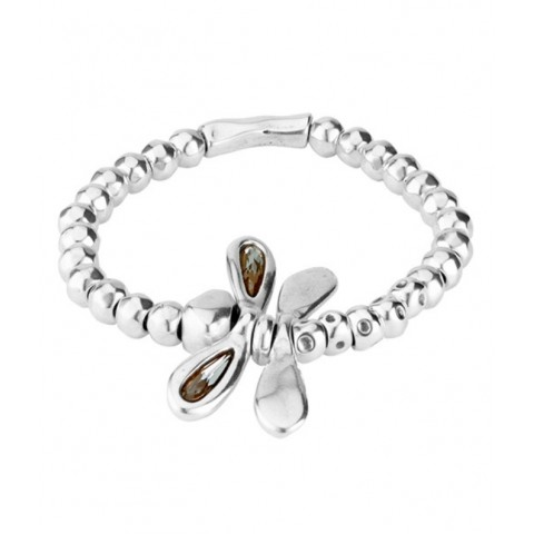 BRACCIALE UNODE50 LITTLE DRAGON FLY PUL1739GRSMTL0