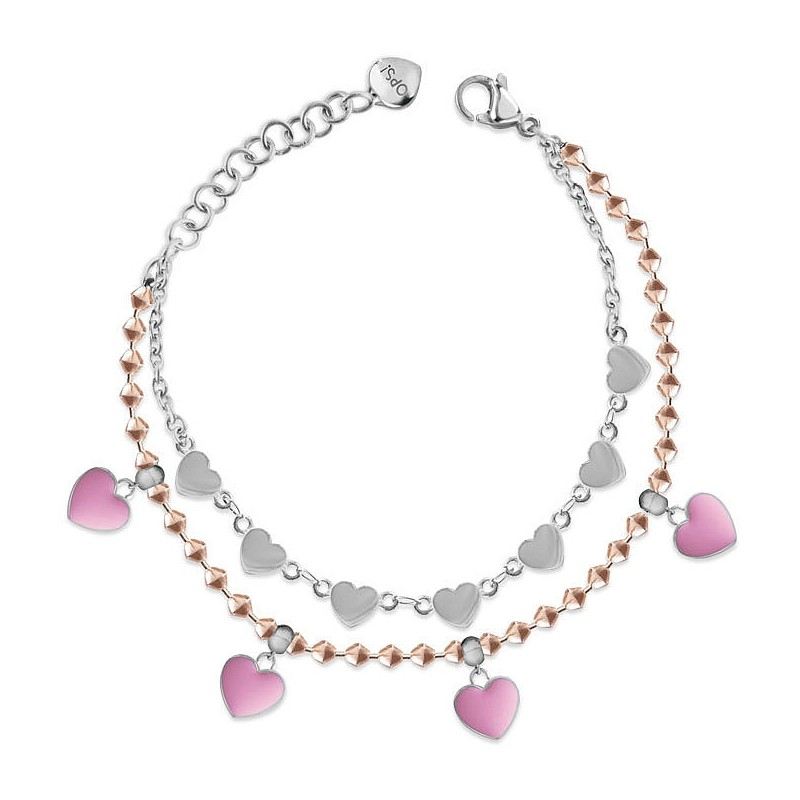 bracciale donna gioielli Ops Objects Twice Candy OPSBR-697