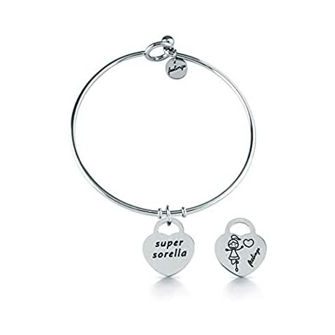 BRACCIALE RIGIDO FEELINGS'SUPER SORELLA' fe06abr