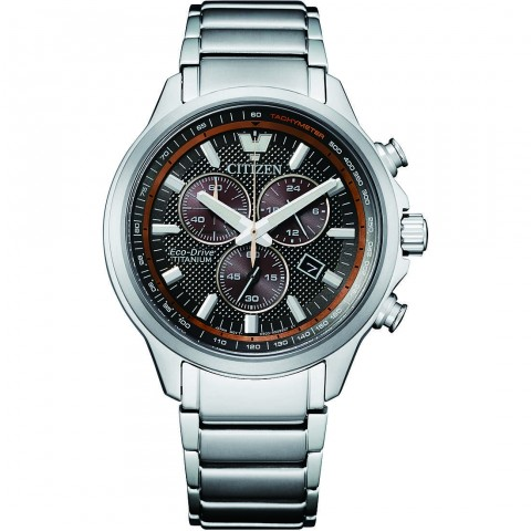 Citizen orologio cronografo uomo Citizen Supertitanio H500 AT2470-85H