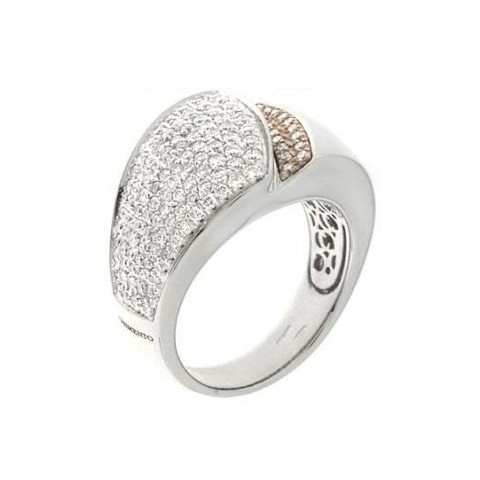 CHIMENTO DESIDERIO ANELLO DONNA DIAMANTI CT. 0,88