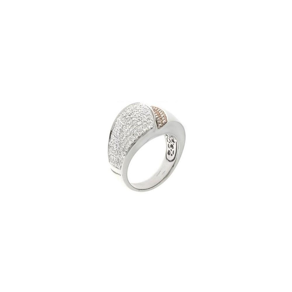 Woman Ring CHIMENTO DESIRE DIAMONDS CT. 0.88
