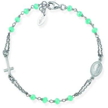bracciale donna gioielli Amen Rosari CODICE: BROBT3